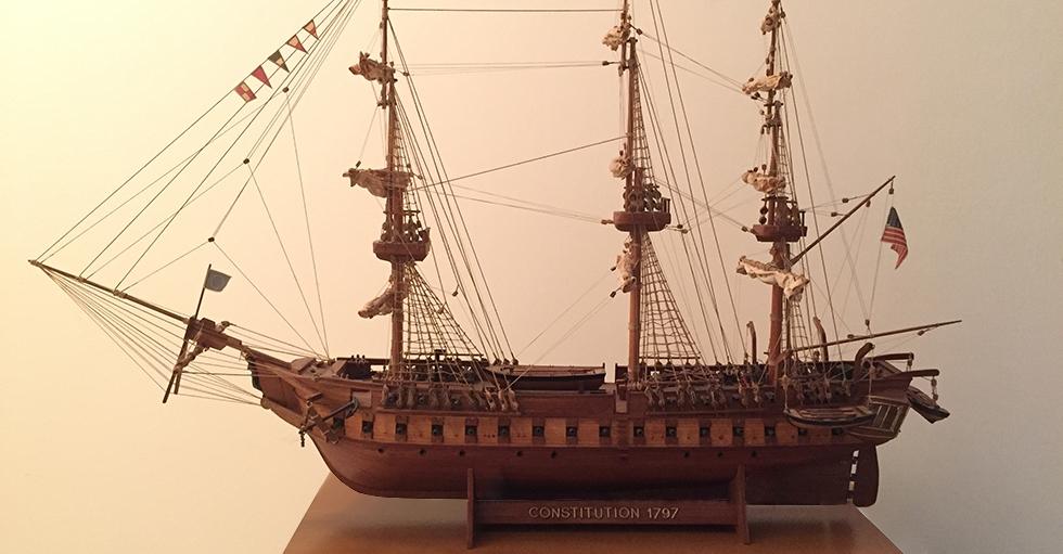 USS CONSTITUTION 1797